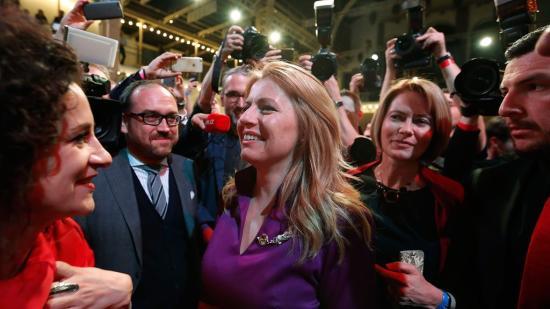 Nőt választottak Szlovákia elnökévé