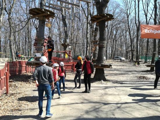 Nem áprilisi tréfa: megnyílt az Adrenalin Park