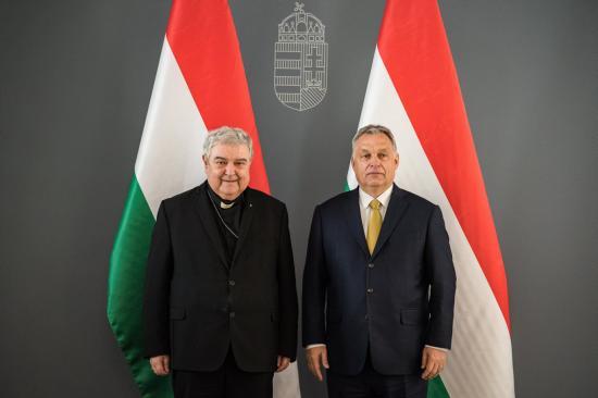 Orbán Viktor támogatásáról biztosította az érseket