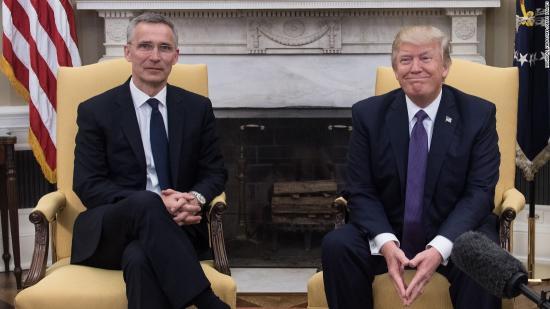Trump üdvözli, hogy egyes NATO-tagok megnövelték hozzájárulásukat a közös védelmi kiadásokhoz