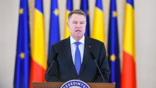 Két kérdést javasol a május végi referendumra Klaus Iohannis államfő