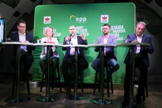 Erős Európát és fejlődő Erdélyt szeretne az RMDSZ