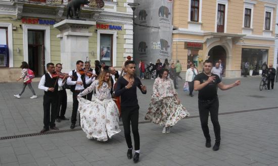 Romák világnapját ünneplik Kolozsváron