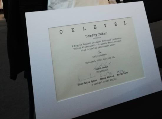 Kihirdették a Nemzeti Levéltár irodalmi pályázatának győzteseit