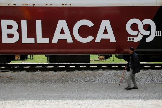 Múzeummá alakítják a Koszovóból elűzötteket szállító vonatot