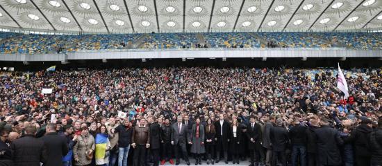 Porosenko kárpátaljai magyar kisebbségről is beszélt