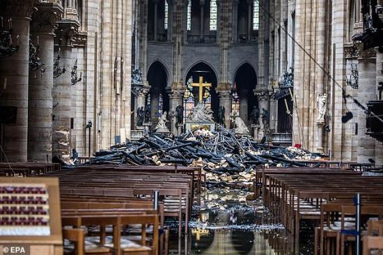 Macron: Még szebb lesz az újjáépített Notre-Dame