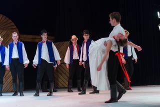 """Forrószegiek – Novák Ferenc """"Tata"""" előadása a Nemzeti Táncszínházban"""