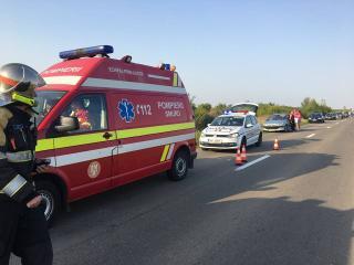 Baleset Kolozsváron, kilenc hónapos kisbaba is van a sérültek között