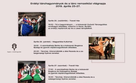 Táncvilágnapi rendezvénysorozatot szervez a Zurboló