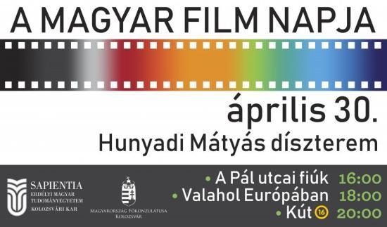 Ingyenes filmvetítések a magyar film napján a Sapientián