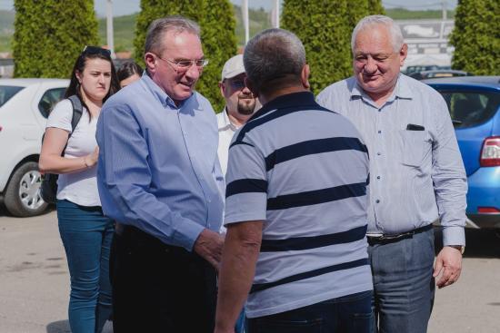 Szilágy megyében tájékoztatott az EP-választásokról Winkler Gyula