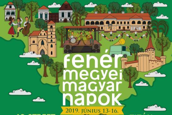 A szorványmagyarság fesztiváljára, a Fehér Megyei Magyar Napokra június 13-16. között kerül sor