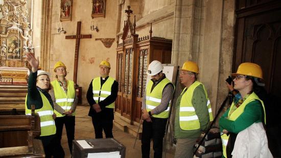 Lépésről lépésre halad a Szent Mihály-templom restaurálása