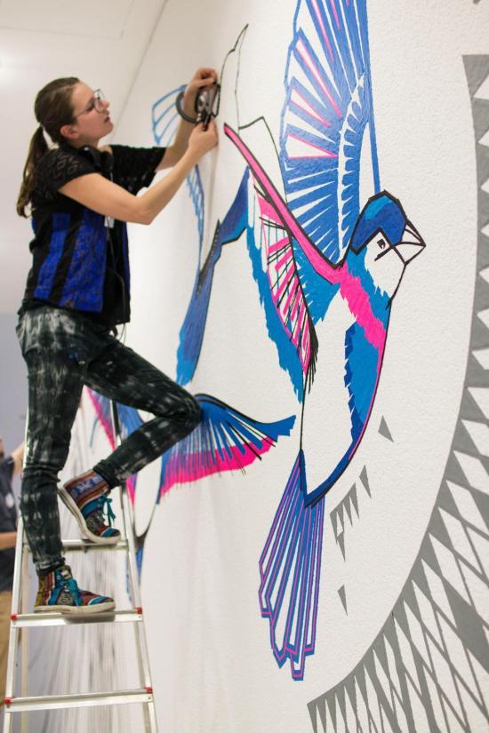 Tape art is lesz a Német Kulturális Központ 25. születésnapján