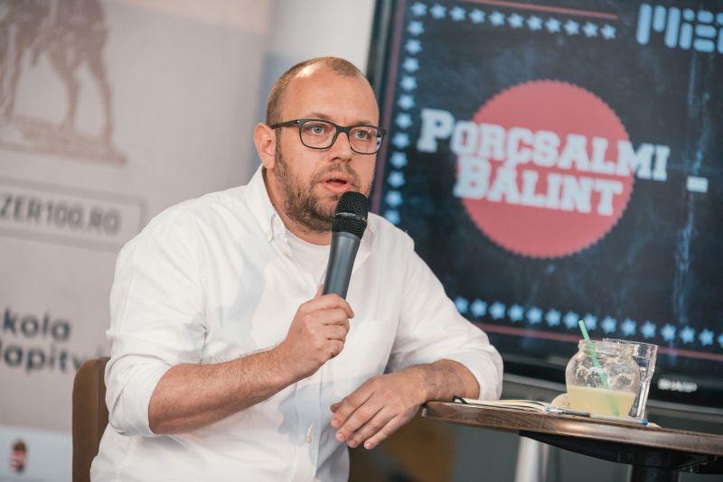 Beszélgetés Porcsalmi Bálint ügyvezető elnökkel, az RMDSZ kampányfőnökével