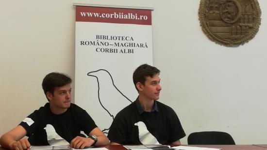 Magyar író és költő műveiből olvastak fel román diákok