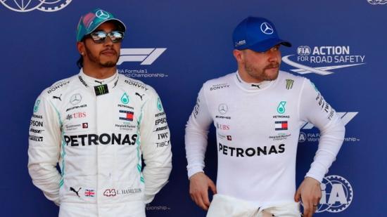 Spanyol Nagydíj. Hamilton győzött, ötödször is kettős Mercedes-siker