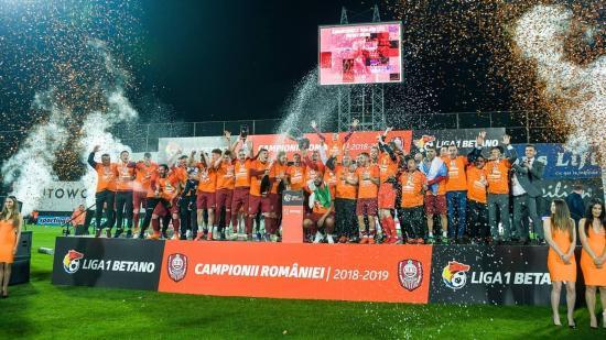 Ötödik bajnoki címét szerezte meg a Kolozsvári CFR 1907 focicsapata