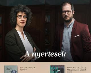 Szvoren Edina novelláskötete nyerte a 2019-es Libri irodalmi díjat