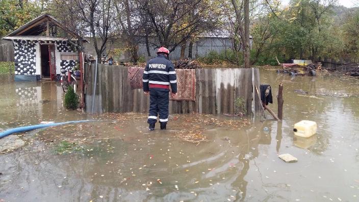 Ismét vörös árvízriadó Beszterce-Naszód megyében