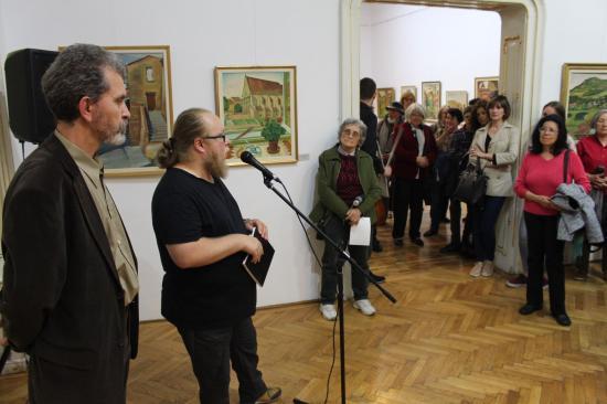 Balázs Péter-kiállítás nyílt a Művészeti Múzeumban