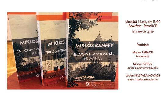 Románul is megjelent Bánffy Miklós Erdély-trilógiája