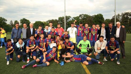 Helyi labdarúgó Román Kupa döntő és díjazás a sportparkban