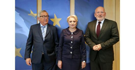 Üdvözölték a brüsszeli vezetők Dăncilă hozzáállását (VIDEÓVAL)