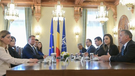Iohannis nemzeti paktumot javasol Románia európai útjának megerősítéséről