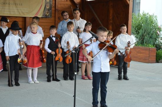 Széki táncok, Dunántúli dallamok a Téka-gálán