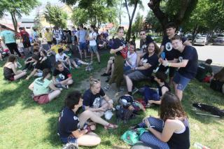 Középiskolás diáknapok a Fellegváron