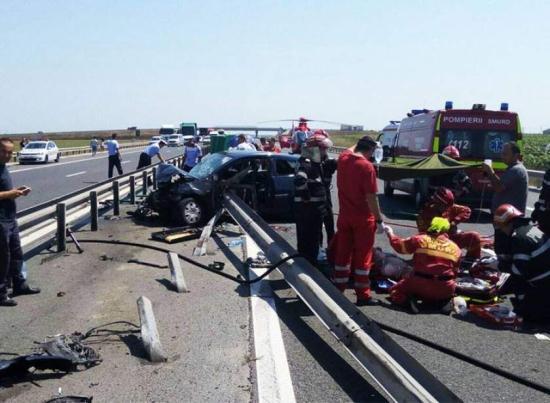 Súlyos baleset az A1-es autópályán: három személy meghalt, egy gyermek kómában van
