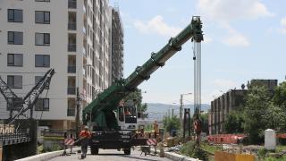 Ütemterv szerint haladnak a hídjavítási munkálatok