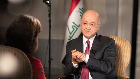 Iraki elnök: Washington nem indíthat támadást Irán ellen iraki területről