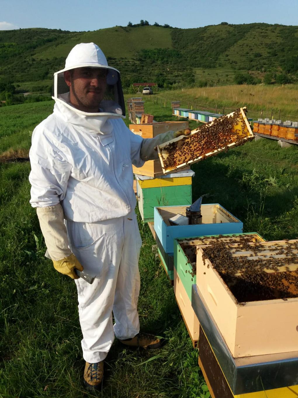 Marci iskolásként vette meg az első méhcsaládját