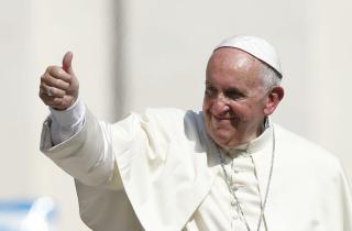 Ferenc pápa karitatív céljaira gyűjtenek