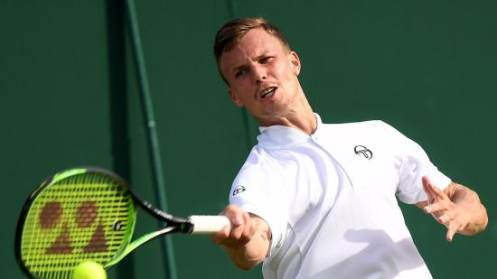 Wimbledon: Fucsovics öt játszmában kikapott Fogninitől