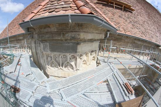 Újabb kuriózumra bukkantak a Szent Mihály-plébániatemplomon