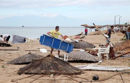 Kolozsvárról származnak a Halikidiki-félszigeten tomboló vihar áldozatai