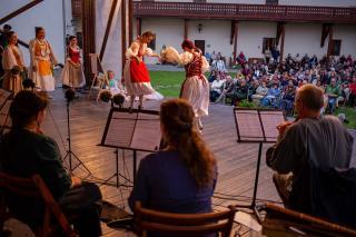 Kitalált táncok és énekköltészet a régizene fesztiválon
