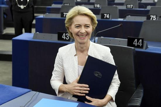 Megválasztották a német Ursula von der Leyent az Európai Bizottság új elnökének
