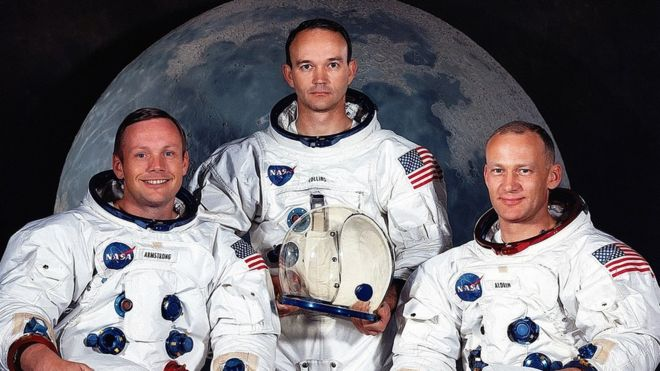 Neil Armstrong, Michael Collins és Edward Buzz Aldrin