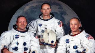 Az első ember 50 éve lépett a Holdra
