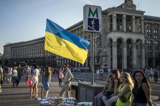 Rendben zajlik a parlamenti választás Ukrajnában