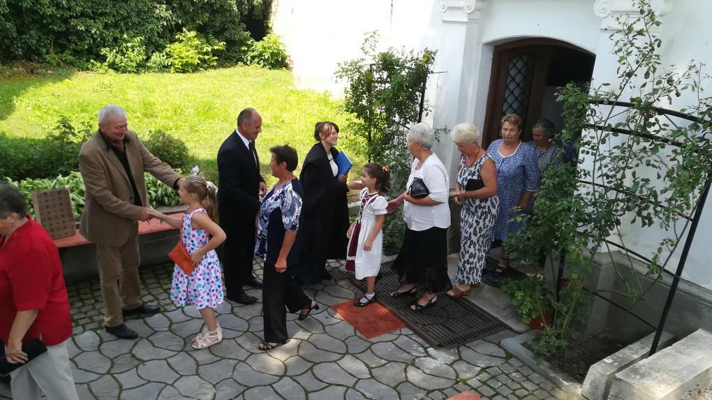Első ízben tartottak egyházközségi napot az aranyosszéki településen