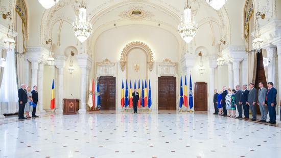 Három minisztert nevezett ki Iohannis