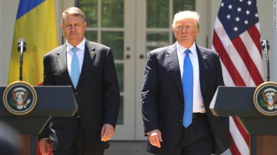 Nemsokára találkozik Iohannis és Trump