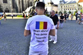 Diaszpóra-tüntetés - Több ezren tiltakoztak Kolozsváron is