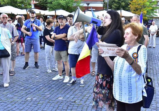 Tüntettek Kolozsváron is a kormány ellen